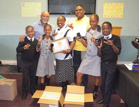First School with 100% Mobile Saturation is Kwavulindlebe Primary School for the Deaf. | Paradigms, Tools and Ideas in Learning in a Global Context | Scoop.it