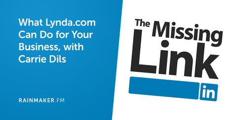 What Lynda.com Can Do for Your Business, with Carrie Dils  | Linkedin for Business Marketing | Scoop.it