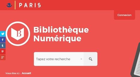 PNB : les bibliothèques de Paris ouvrent leur portail de livres numériques | Bibliothèques vivantes | Scoop.it