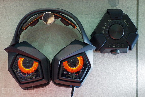 Angry owl is angry: ASUS does a badass gaming headset - Engadget | GamingShed | Scoop.it