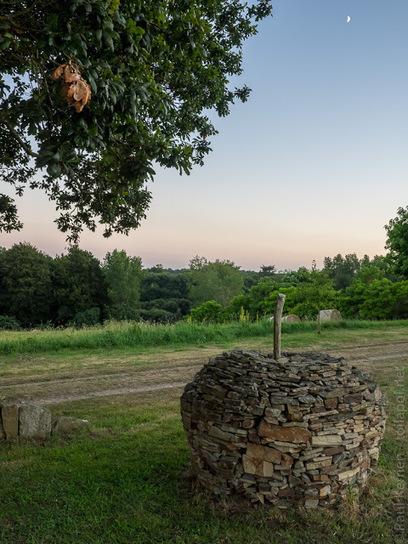 balade photo en Finistère, Bretagne et...: land-art à Ty Istribilh, en soirée (13 photos) | photo en Bretagne - Finistère | Scoop.it
