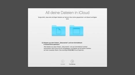 macOS Sierra: Neue iCloud-Integration mit Fallstricken | Mac in der Schule | Scoop.it