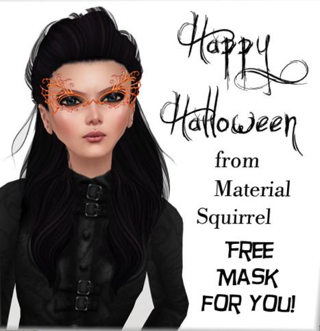 Free Mask | Second Life Freeness Huntress | Scoop.it