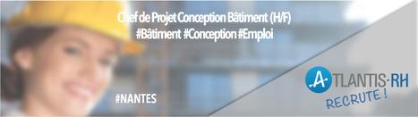 Chef de Projet Conception Bâtiment (H/F) | Emploi #Construction #Ingenieur | Scoop.it