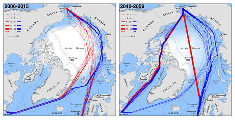 Ice melt to expand Arctic shipping by midcentury | Amazing Science | Scoop.it