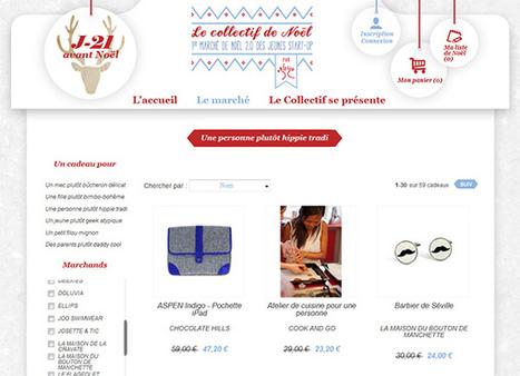 [marque] Maison du bouton de manchette - 3/12/12 - Le collectif de Noël | La Maison du Bouton de Manchette | Collectif de Noël | Scoop.it