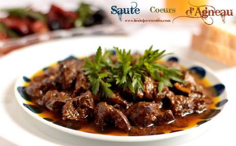 Coeur d'agneau saute   cuisine algerienne et recettes de ramadan   Scoop.it