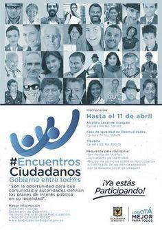 Hasta el 11 de abril se amplía el plazo... - Alcaldía Usaquén | Facebook | Actualidad colombiana | Scoop.it