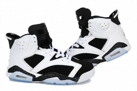 Women Air Jordan 6 Sneakers with Black and White Color | new and fashion list | Scoop.it