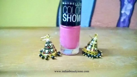 Maybelline Colorshow Nail Paint Pink Voltage Review | Indian Beauty Zone | Indian Beauty Zone | Scoop.it