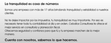 Contabilidad - Consultoría fiscal, contable y financiera, planeación fiscal Guadalajara, México | Planeación contable | Scoop.it
