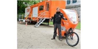 Actualité de la logistique urbaine - TNT Express teste un dépôt mobile écologique à Bruxelles   Mobilité   Scoop.it