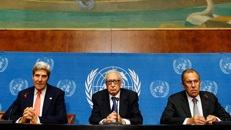 Russia, US and UN: Geneva peace talks only way to stop Syria ... | Peace | Scoop.it