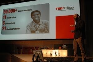 Con Moncho Ferrer en las presentaciones deTEDxBilbao   Recull diari   Scoop.it