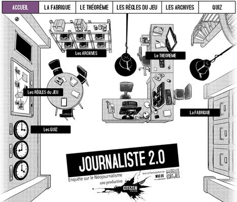"""Être webjournaliste, ça veut dire quoi au juste ? avec le #webdocumentaire """"Journaliste 2.0"""" #EMI @france4tv   CDI EMI   Scoop.it"""