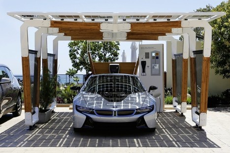 One Day You Might Park Up in a Beautiful Solar Charging Carport | No Watch News | Scoop.it