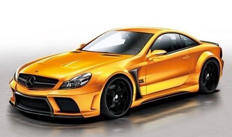 Veilside bets on Black with Mercedes SL body kit   The DATZ Blast   Scoop.it