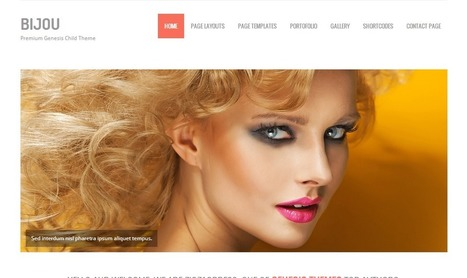 Bijou Theme by ZigZagPress | Premium WordPress Themes | Scoop.it