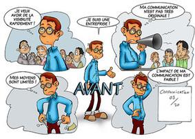 Your Comics : communication par la bande dessinee | 1Site2Day | Scoop.it