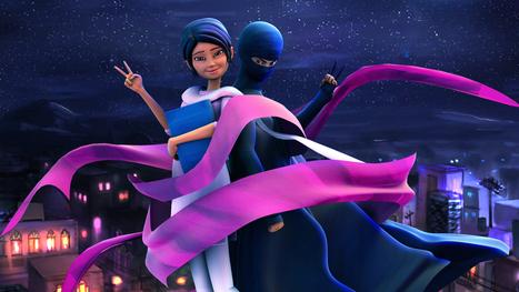 Lady In Black: 'Burka Avenger' Fights For Pakistan's Girls | Mrs. Watson's Class | Scoop.it