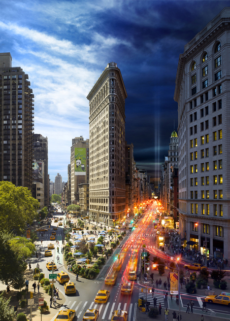 Stunning Day to Night Photographs of NYC by Stephen Wilkes | Everything from Social Media to F1 to Photography to Anything Interesting | Scoop.it