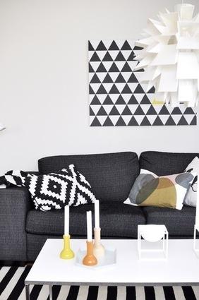 La maison graphique d'Eline en Norvège | | PLANETE DECO a homes worldPLANETE DECO a homes world | Céka décore | Scoop.it