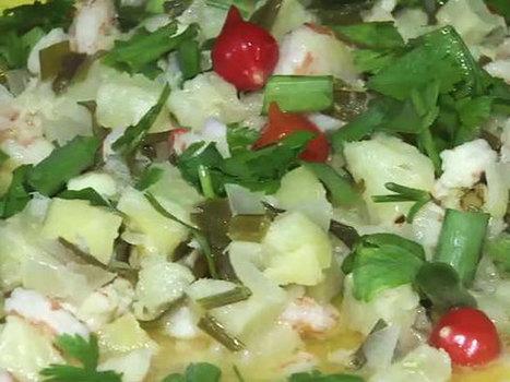 Abacaxi tropical leva camarão e é bastante refrescante - iFronteira.com   Matador de Fome   Scoop.it