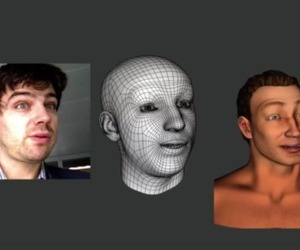 Watch this: Kinect-powered motion capture mimics your facial movements in real time | Conceiving Of And Responding To New Possibilities... | Scoop.it