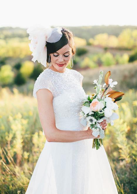 Rustic Vintage Nebraska wedding: Lisa + Aaron | Real Weddings ... | real weddings | Scoop.it