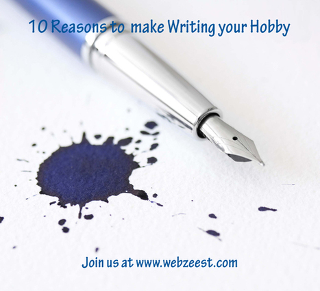 10 Reasons why you should make Writing your hobby   Programming &Technology   Scoop.it