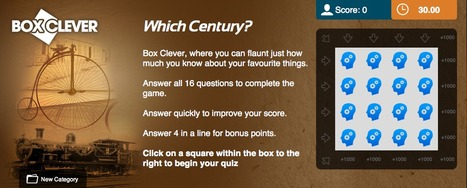Which Century Quiz | Box Clever | QuizFortune | Quiz Related Biz - Social Quizzing and Gaming | Scoop.it