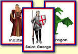 St George's Day teaching resources - High Quality Images - George and the Dragon - Traditional English Holiday - Feast Day of Saint George - Primary Resources | FOTOTECA INFANTIL | Scoop.it