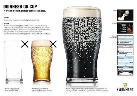 26 Creative Ways to Use QR Codes   Actu webmarketing et marketing mobile   Scoop.it
