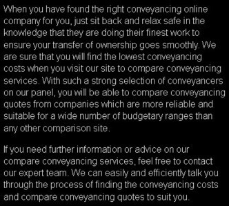 Affordable Conveyancing Fees Online in UK | Conveyancing quotes | Scoop.it