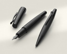 Faber-Castell Pure Black e-motion Fountain Pen | Writing instruments | Scoop.it