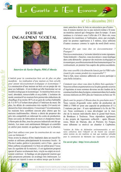 ABOXIA - La Gazette de l'Eco Economie | Aboxia | Scoop.it