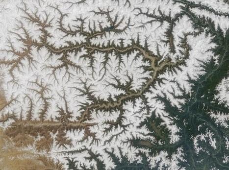 Une équation mathématique prédit le trajet d'une rivière en formation - Science et Vie   Sciences de la Terre.   Scoop.it