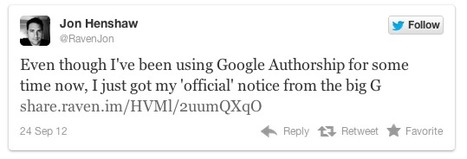 Google Emails Authorship Confirmations To Bloggers | Online Marketing Resources | Scoop.it