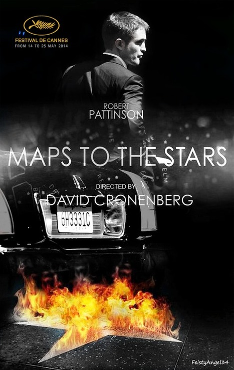 THR: David Cronenberg's Maps to the Stars will compete for the Palme d'Or of Cannes Film Festival 2014 | Robert Pattinson Daily News, Photo, Video & Fan Art | Scoop.it