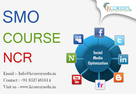 What Is the Relevance of SMO Course NCR? | Training in Noida | Scoop.it