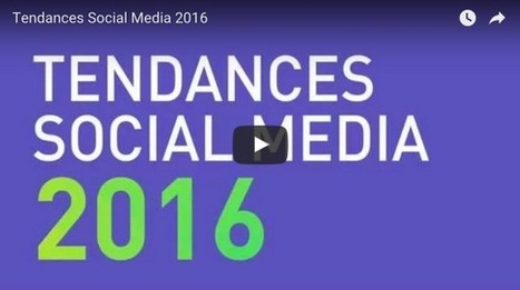 Social Media : 10 tendances pour 2016 | SOCIAL MEDIA INTERACTION (bilingual) | Scoop.it