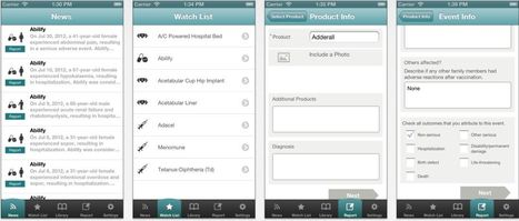 FDA Device Surveillance to Tap App | 1- E-HEALTH by PHARMAGEEK - E SANTE par PHARMAGEEK | Scoop.it