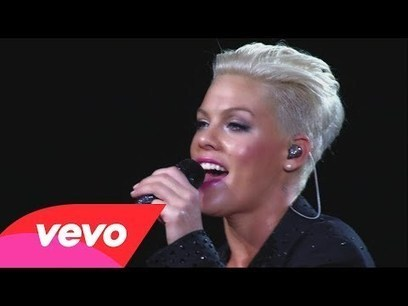 P!nk - Are We All We Are (Live From Melbourne) | internet marketing | Scoop.it