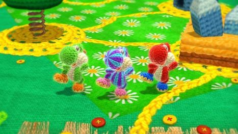 It's the crafty details that make Yoshi's Woolly World a knitter's delight · Keyboard Geniuses · The A.V. Club   Handcraft - knitting, crocheting, sewing, embroidery   Scoop.it
