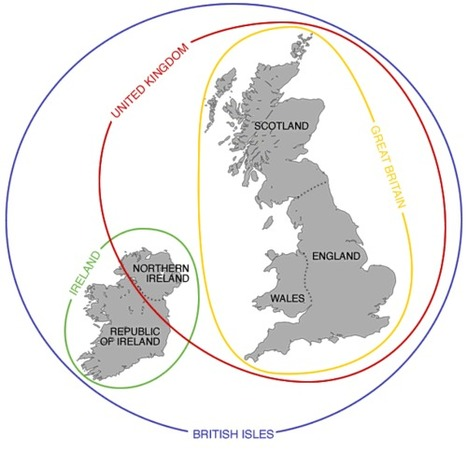 England, Britain and the UK | Geography Education | Scoop.it