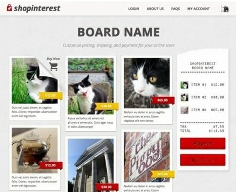 Shopinterest transforma tu cuenta de Pinterest en una tienda Virtual | TIC, educación y demás temas | Scoop.it