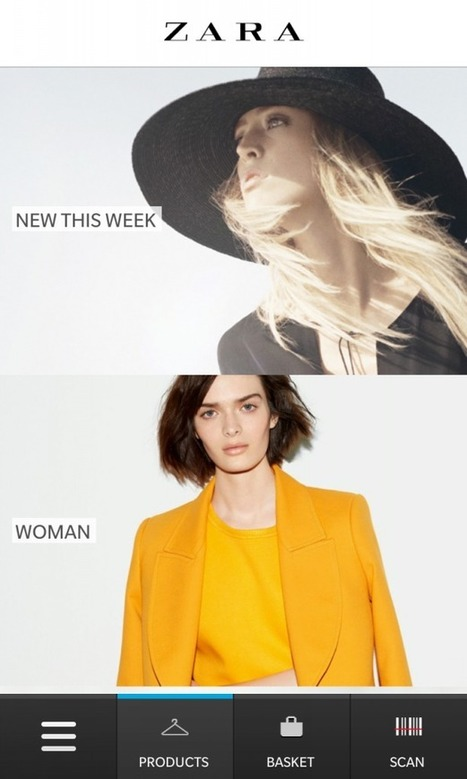 Zara Creates the Perfect Mobile Shopping Experience for BlackBerry 10 » Blackberry 10 apps   ICT? Yes please   Scoop.it