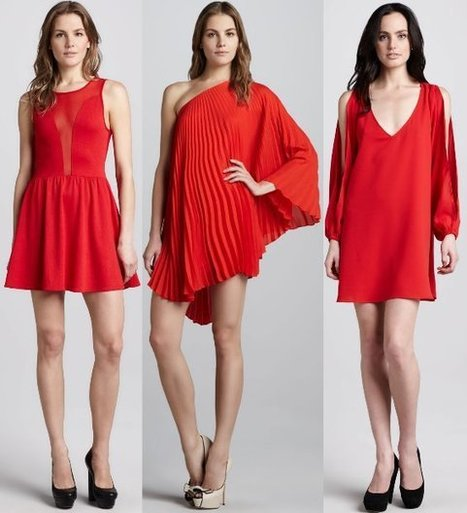 Valentine's Day Red Dresses and Accessories | Women Fashion Accessories | Scoop.it