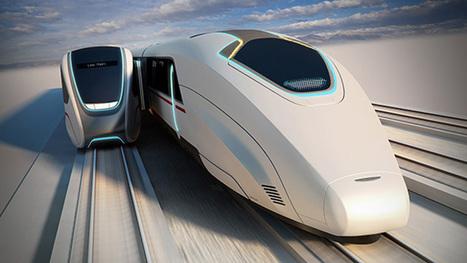 A quoi ressemblera le train connecté du futur ?   Geek, applications, objets connectés   Scoop.it