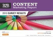 [FREE] Everything Technology Marketing: Download the 2013 B2B Content Marketing Report | Employer Branding | Scoop.it